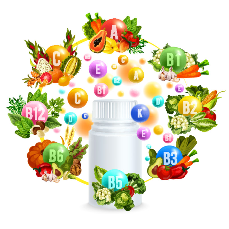 Vitamins and Nutrients