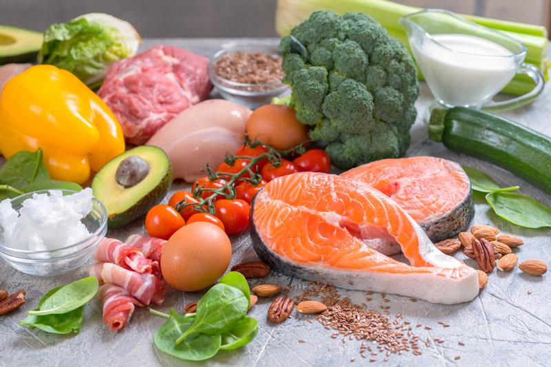 Meats Fish Nuts Vegatables