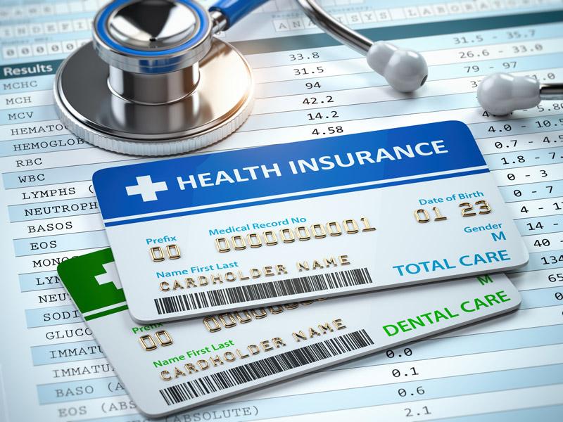 Health Insurance cards